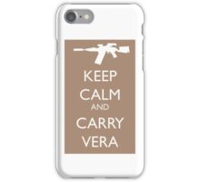 Keep Calm and Carry Vera iPhone Case/Skin