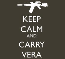 Keep Calm and Carry Vera by reddesilets
