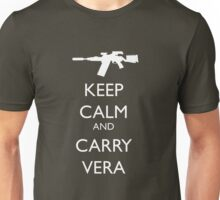 Keep Calm and Carry Vera Unisex T-Shirt