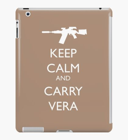 Keep Calm and Carry Vera iPad Case/Skin