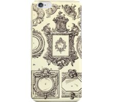 A Handbook Of Ornament With Three Hundred Plates Franz Sales Meyer 1896 0482 Frames Mirror iPhone Case/Skin