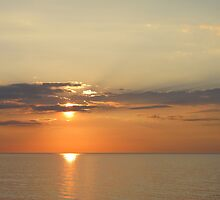 Ocean Sunrise by Jennie L. Richards