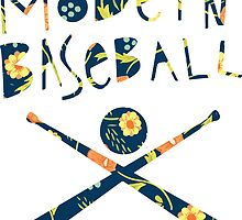 Modern Baseball Logo by Luke Martin