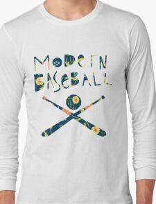 Modern Baseball Logo Long Sleeve T-Shirt