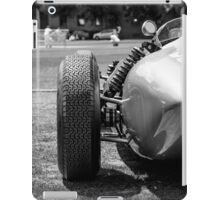 Classic racing #56 car sits in front of cricket match iPad Case/Skin