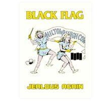 Black Flag - Jealous Again Art Print