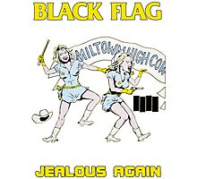 Black Flag - Jealous Again Photographic Print