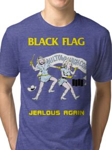 Black Flag - Jealous Again Tri-blend T-Shirt
