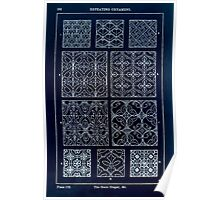 A Handbook Of Ornament With Three Hundred Plates Franz Sales Meyer 1896 0298 Repeating Ornament Scale Diaper Inverted Poster