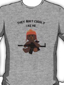 Cuddly Jayne - different font T-Shirt
