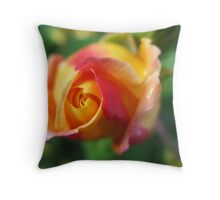 Strawberry Swirl Throw Pillow