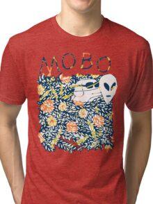 Modern Baseball Dog logo Tri-blend T-Shirt