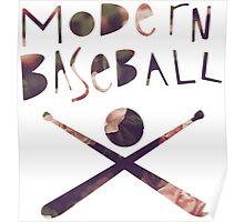 Modern Baseball Bats Poster