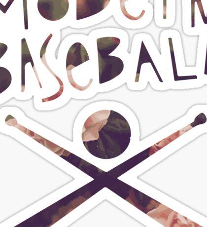 Modern Baseball Bats Sticker