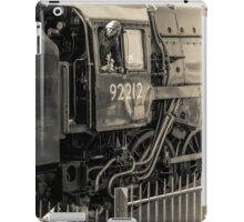 Historic locomotive 92212 iPad Case/Skin