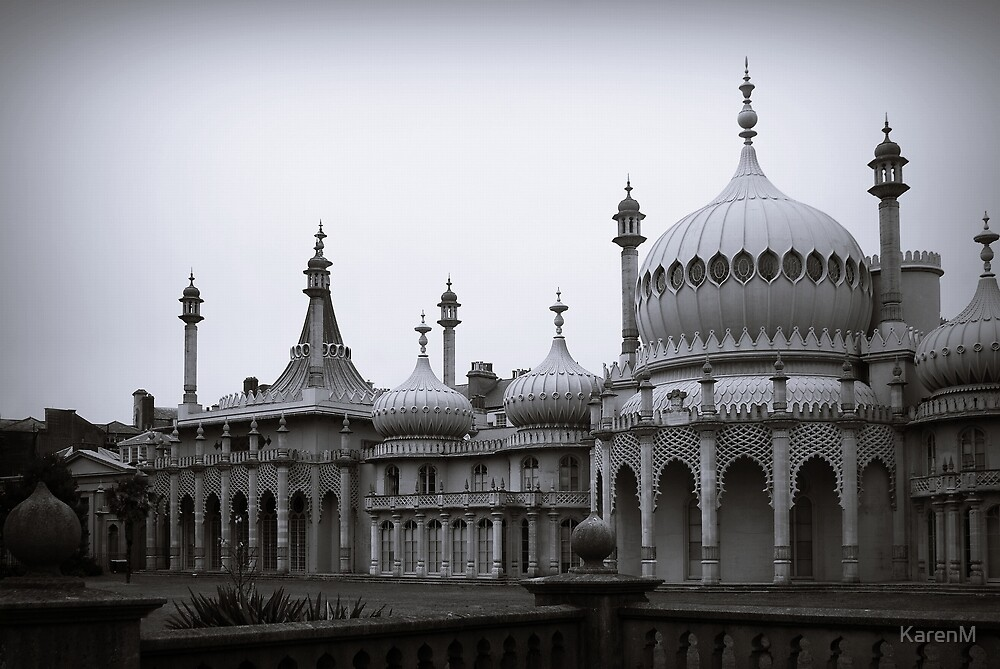 The Brighton Royal Pavillion by Karen Martin
