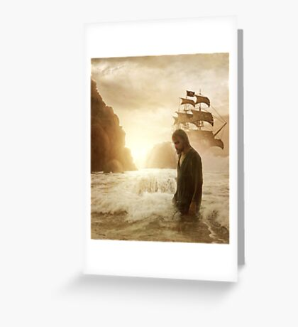 One day on earth Greeting Card
