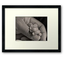 Simply Awesome BW Framed Print