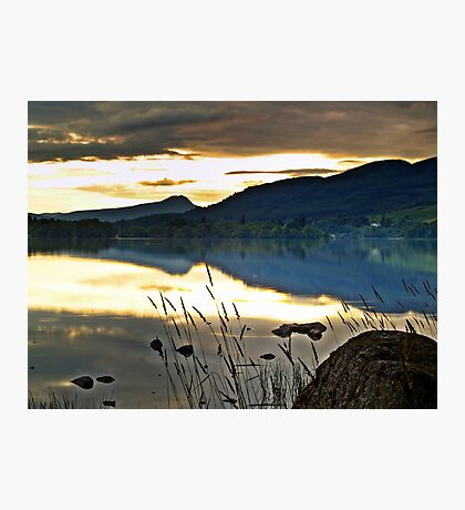 Lake Menteith, Scotland. Photographic Print