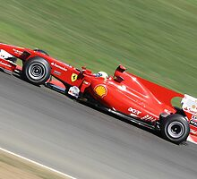 Ferrari F10, Felipe Massa  by Ben Luck