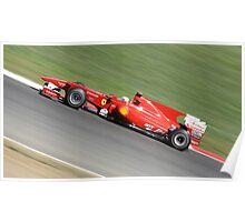 Ferrari F10, Felipe Massa  Poster