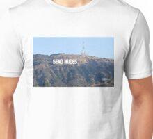 Send Nudes Hollywood Unisex T-Shirt