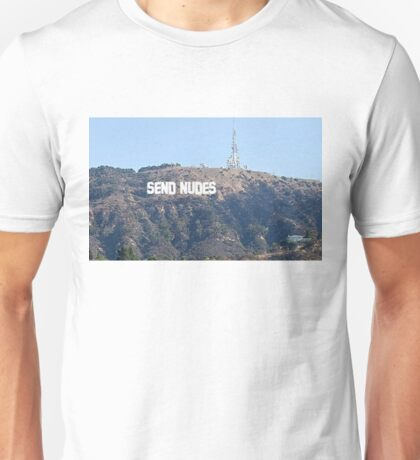Send Nudes Hollywood Unisex T-Shirt