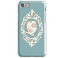 Hannibal Cameo in Floral Aesthetic iPhone Case/Skin
