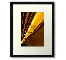 Commuter Passage Framed Print