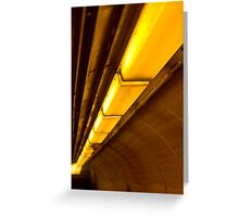 Commuter Passage Greeting Card