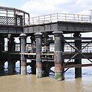 Old Railway Pier, Gravesend,Kent by brianfuller75