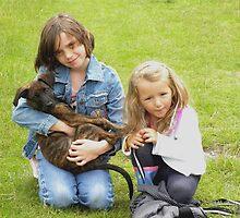 Roxi, Chloe and Jessica by rhian mountjoy