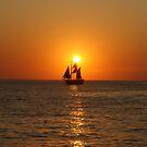 Santorinian Sunset by dimitris