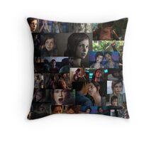 Ellie Collage Throw Pillow