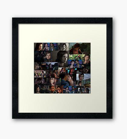 Ellie Collage Framed Print