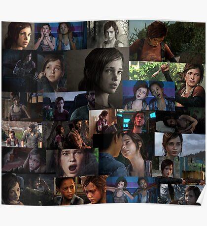 Ellie Collage Poster