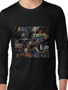 Ellie Collage Long Sleeve T-Shirt