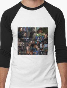 Ellie Collage Men's Baseball ¾ T-Shirt