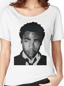 Childish Gambino Vector Women's Relaxed Fit T-Shirt