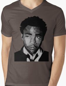 Childish Gambino Vector Mens V-Neck T-Shirt