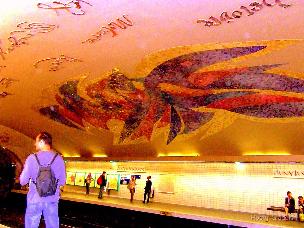 Parisien Metro Magic by Rusty  Gladdish