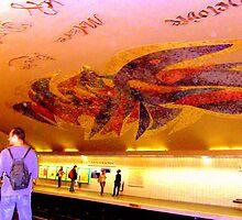 Parisien Metro Magic by Rusty  Gladdish