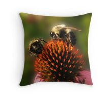 Cone Diners Throw Pillow