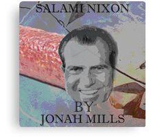 Salami Nixon Canvas Print
