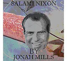 Salami Nixon Photographic Print