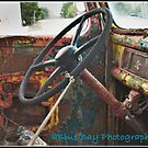 Ford 3 Ton Truck interior detail by Roxane Bay