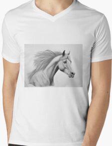 """""""Spirit of the Sands"""" - Arabian horse Mens V-Neck T-Shirt"""