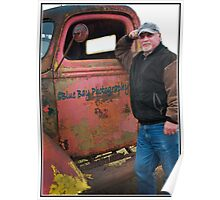 Blue Bay Photography Truck Poster