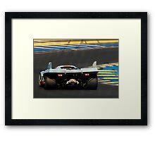 Porsche 917 into Tertre Rouge at Le Mans Framed Print