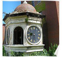 Clock Tower In Need of Repair Poster